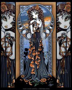 Gothic fantasy artist
