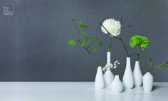 Für frische Blumen, gute Laune, ein schönes Zuhause: die Mini Vasen von räder.