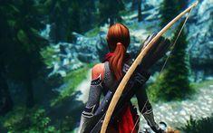 Download wallpapers Mjoll the Lioness, 4k, 2018 games, gameplay, The Elder Scrolls V Skyrim