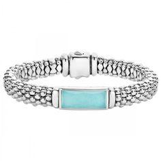 LAGOS | Maya Caviar Beaded Bracelet in Turquoise