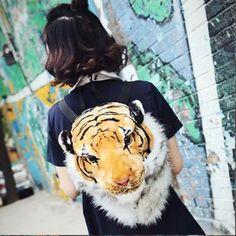 Korean Tiger Head Bag GDs One of a Kind YV16004