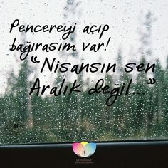 Pencereyi açıp bağırasım var; Nisansın sen Aralık değil! #hibboux #pazar #sunday #mutluluk #turkiye #lifestyle