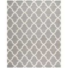 Safavieh, Cambridge Silver/Ivory 8 ft. x 10 ft. Area Rug, CAM121D-8 at The Home Depot - Mobile