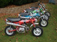Classic Honda mortorcycles, anyone into them?