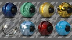Tutorial No.13 : new Reflectance Channel in Cinema 4d R16 Explained , Inside out ! on Vimeo