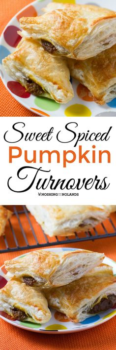 Sweet Spiced Pumpkin Turnovers by Noshing With The Nolands will heighten your senses with its unusual spice. So delicious and easy to make too!