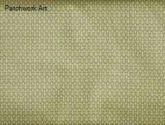 100% bavlna dovoz EU  zelený  podklad s bielym vzorom  š.: 140 cm Handmade, Scrappy Quilts, Hand Made, Handarbeit