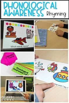 phonological awareness activities that teach rhyming