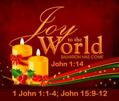 Good Morning from Trinity, TX  Today is Tuesday December 22, 2015   Day 356 on the 2015 Journey   Make It A Great Day, Everyday!   Receive The Word of Life that Your Joy May Be Full  Today's Scriptures: John 1:14;1 John 1:1-4;John 15:9-12 https://www.biblegateway.com/passage/?search=John+1%3A14%3B1+John+1%3A1-4%3BJohn+15%3A9-12&version=NKJV ... And these things we write to you that your joy may be full.;...Inspirational Song https://youtu.be/30OaM6b48k8