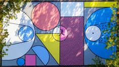 Belgian basketball court refreshed with mural based on colourful toy blocks - Sport interests