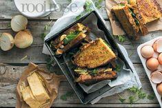Wie het gedink 'n Franse eierbroodjie kan so opgedollie word met geurige Indiese speserye? Egg Sandwiches, South African Recipes, Other Recipes, Easy Dinner Recipes, Pork, Pantry, Indian, Easy Dinner Recipies, Kale Stir Fry
