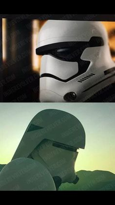 The new look of the #stormtrooper and #snowtrooper #star wars episode VII