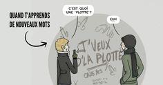 Top 10 des petites illustrations dune Française expatriée au Québec tabarnak !