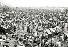 Пляж Нью-Йорк 1936г