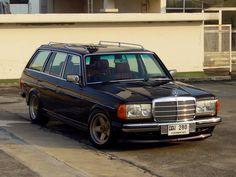 Mercedes Benz W123 Wagon. Beautiful
