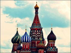 Saint Basil's Cathedral, Moscow, Russia #Cathedrals #Moscow #Russia