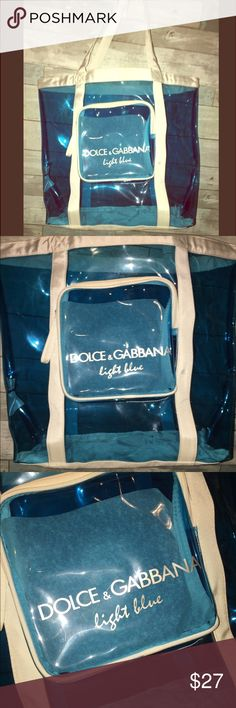 D&G Shoulder Bag✨ Super cute D&G bag great for beach trips or just over nighter hardly ever used , looks Brand new. Dolce & Gabbana Bags Shoulder Bags