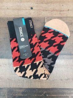 b86dfc557e65 New Stance Casual 200 Matlock 2 Red Black Socks Men s Sz L XL (9-13)   fashion  clothing  shoes  accessories  mensclothing  socks (ebay link)