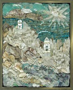 SAMA  selected entry for 2012, The Aegean, Resa McCreary mosaics