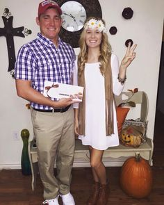 Forrest Gump and Jenny!