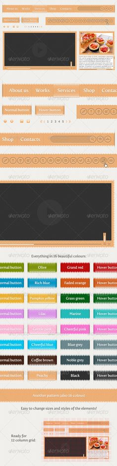 18 Best Web Elements images in 2014 | One page website, Ads