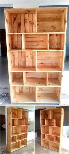 A person always needs a storage space because it seems less no matter how much it is in the home, so we prefer to show the ideas which can increase the storage space in the home and never makes it look weird or occupy much space. The idea of reclaimed wood pallet made shelving cabinet we are going to show you here can be copied for the kitchen as well as for the living room of the home because it is not weird in looks and it will give enough space to store the items as well as decorate the…