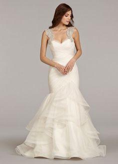 fd3018d72 Haley Paige Spring 2014 Style 6411 Emeryn Mermaid Gown, Mermaid Dresses, Bridal  Dresses,
