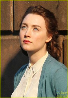 Saoirse Ronan & Emory Cohen Share a Kiss on the Set of 'Brooklyn'! | saoirse ronan emory cohen brookyln filming01 - Photo