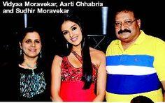 Viidyaa Moravekar, Aarati Chabria, Sudhir Moravekar