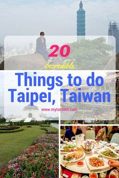 Planning a trip to Taiwan? Here is our list of 20 things to do in Taipei, the capital city of Taiwan with all sorts of fun things to do for every traveler Taiwan Night Market, Taiwan Itinerary, Taipei Travel, Stuff To Do, Things To Do, Travel Guides, Travel Tips, Travel Destinations, Travel Goals