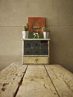 Vintage Style Mini Loft in Budapest / A + Z Design Studio