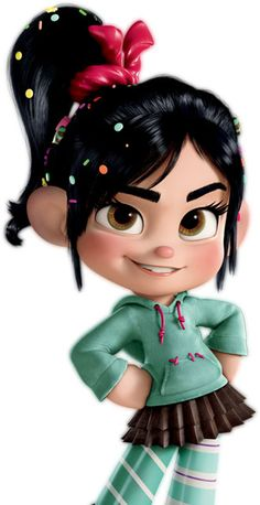 30 Character designs from Disney Animation Movie Wreck It Ralph