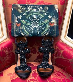 Which would you rather: Givenchy shoes or clutch? http://www.thecoveteur.com/ezgi-kiramer-lian-kebudi-luxury-shoppers/