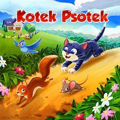 Kotek Psotek - Game Board on Behance