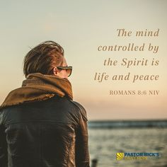 How the Holy Spirit Frees Us from Uncontrolled Thoughts. ves you thoughts; they are temptation. And God gives you thoughts; they are inspiration.