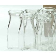 Glass Milk Bottle | 5.5