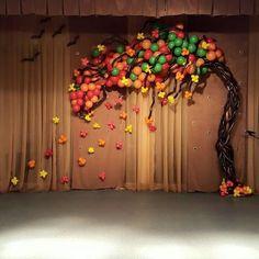 Árbol de otoño #falldecoration #fall #autum