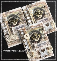 "ATC cards made for a trade with the theme ""Mask"". See all my ATC cards at the tag: #miloliljaartATC  {#miloliljaart} {#myart} {#scrapbooking} {#tarjetas} {#tarjetaspersonalizadas} {#artesaníasdepapel} {#artesanías} {#scrapping} {#instadaily} {#art} {#instaart} {#artist} {#masterpiece} {#paperart} {#crafting} {#creative} {#diy} {#vintage} {#shabbychic} {#mixedmedia} {#atc} {#atctrade} {#atccard} {#artisttradingcard} {#tradingcards} {#cardmaking} {#majadesignsweden} {#majadesign} {#masks}"