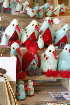 Pauanesia Store Kiwiana, Bird Art, Handmade Toys, New Zealand, Christmas Stockings, Christmas Ideas, Projects To Try, Easter, Birds