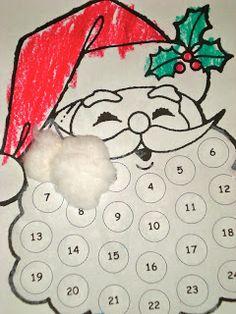 Santa Beard Advent Calendar