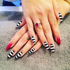 Wizard of OZ Halloween nails