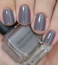 Deborah Lippmann - Planet Rock Similar to Essie - Chinchilly