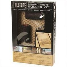 Paint Rollers: Rust-Oleum Restore Rollers 4 in. roller Kit 4 piece 20118, As Shown