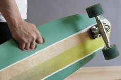 Easy to carry grep in you longboard, good idea!