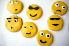 Homemade emoji biscuits…. via @frugalfamily