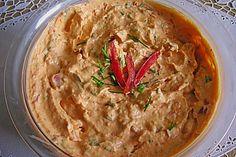 Paprika-Frischkäse-Aufstrich 1