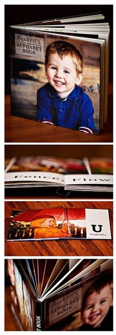 personal photo ABC Book. I love this idea, a way to make the alphabet relate to the child, based on their experiences.