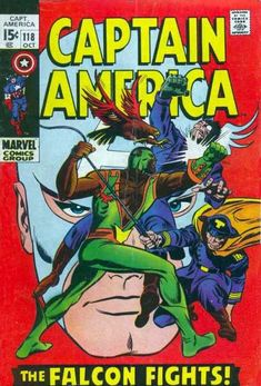 Jim Steranko Captain America | Captain America #118 via | buy on eBay | add