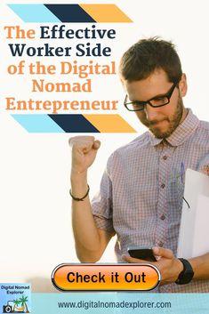 The Effective Worker Side of the Digital Nomad Entrepreneur - Digital Nomad Explorer Travel Careers, Travel Jobs, Work Travel, Job Work, Digital Nomad, Online Work, Teaching English, Entrepreneur, Adventurer