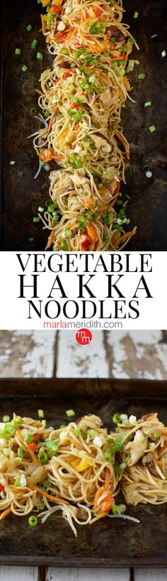 Vegetable Hakka Noodles recipe inspired from a @Carnival Cruise on MarlaMeridith.com ( @marlameridith ) #carnivalpartner